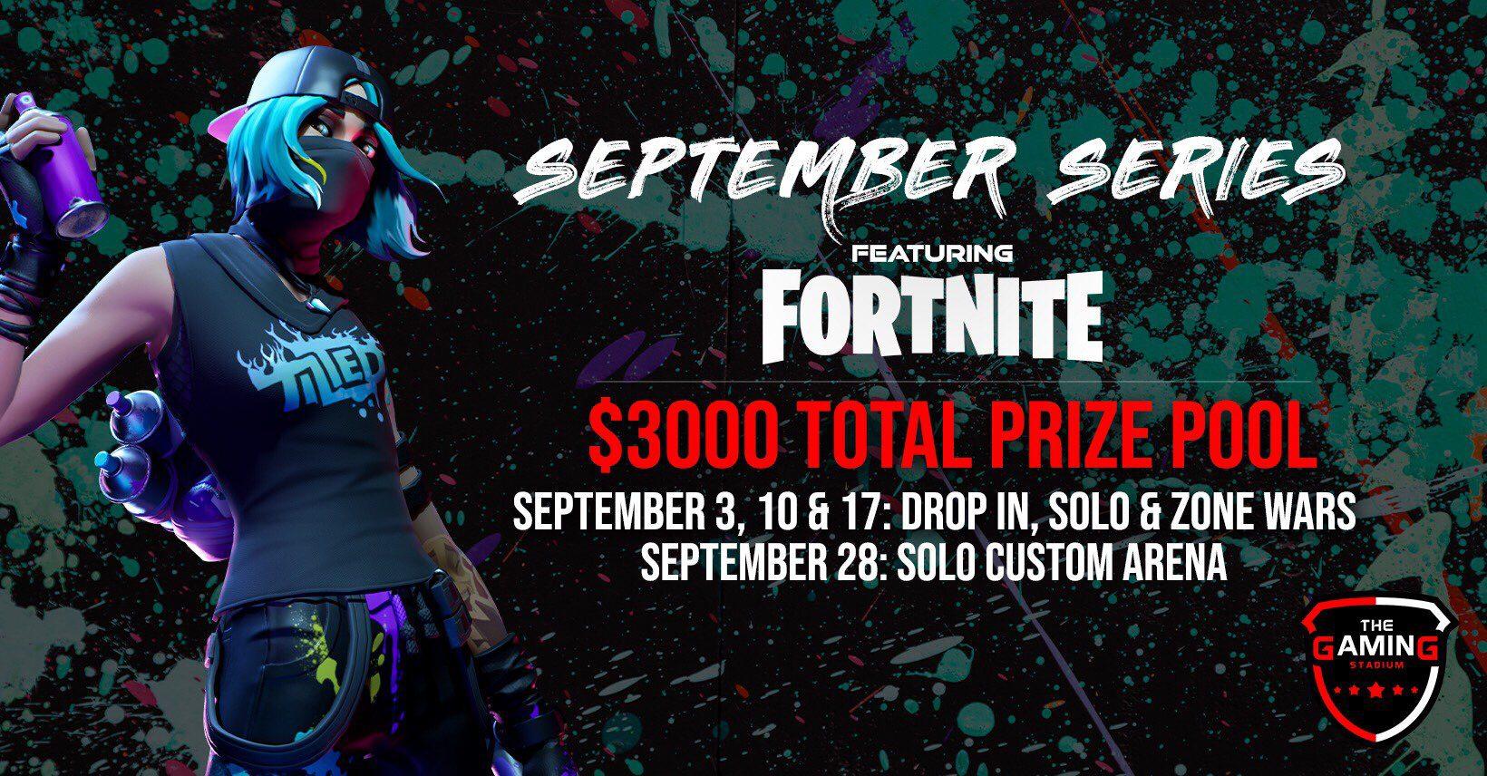 September Series Featuring Fortnite Gaming Stadium