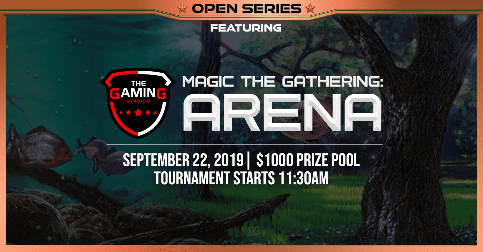 TGS Open Series featuring MTG Arena - Gaming Stadium