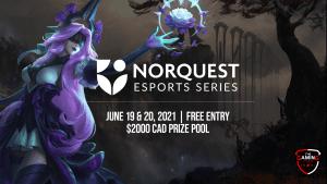 League of Legends event details, sponsored by Norquest